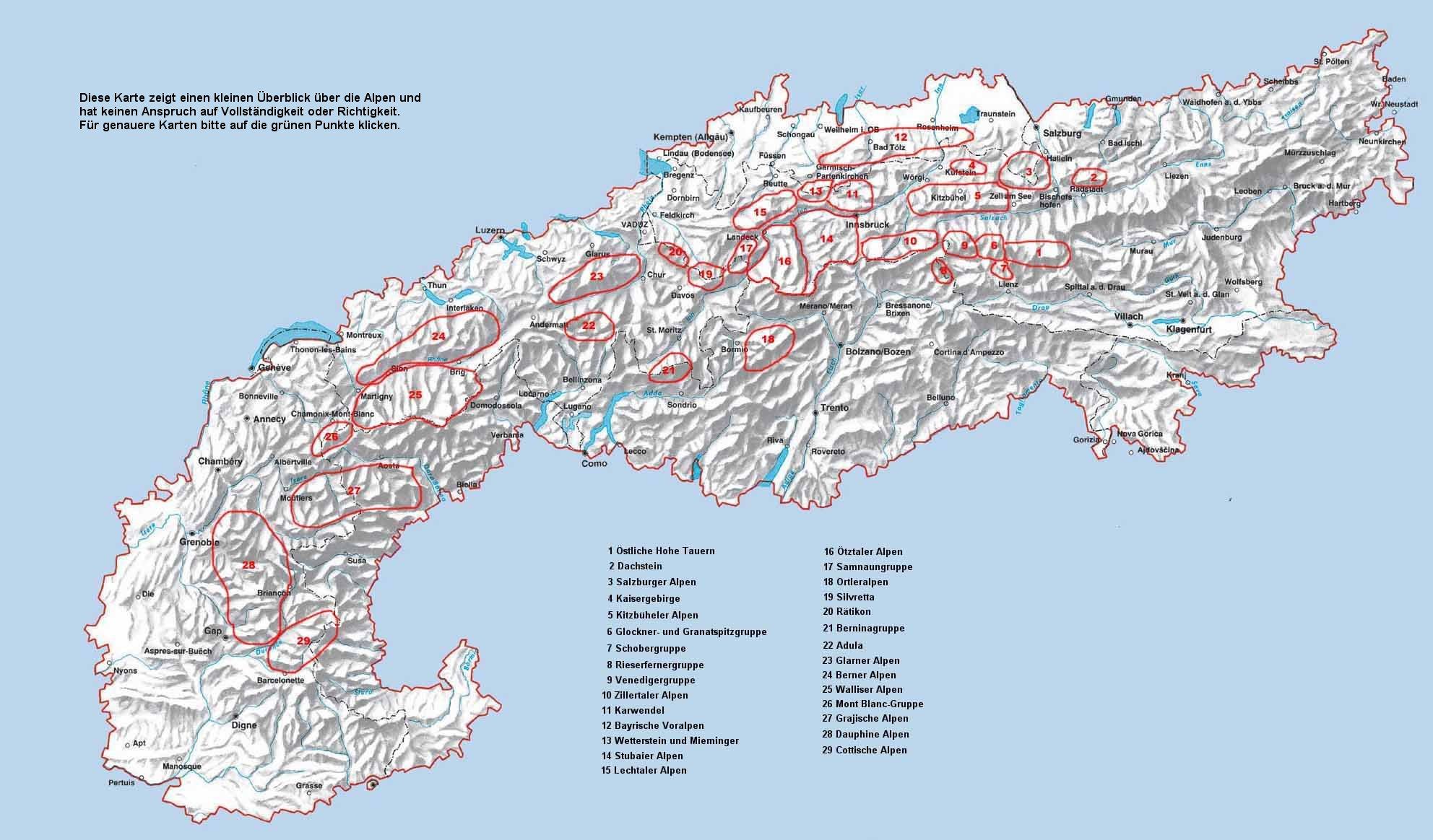 Wanderwege Deutschland Karte.Bericht